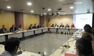 Una reunió anterior de la Taula Nacional de l'Habitatge.