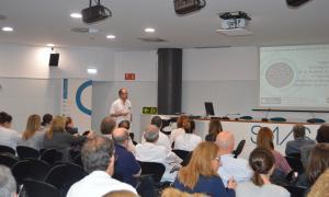 José María Garrancho va explicar ahir les novetats en la hipertensió arterial.