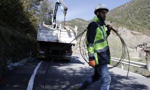 Fontaneda esdevé el segon poble amb xarxa cent per cent fibra òptica