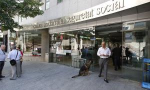 Les instal·lacions de la Caixa Andorrana de Seguretat Social.