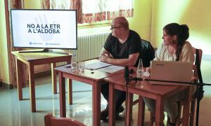 Una de les accions organitzades per la plataforma Aldosa Veïns.