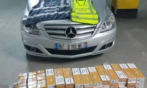 Intervingut tabac de contraban valorat en més de 6.500 euros a la duana de la Farga de Moles