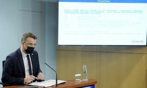 El secretari d'Estat d'Igualtat i Participació Ciutadana, Marc Pons, ha presentat el text per a la igualtat efectiva entre dones i homes.