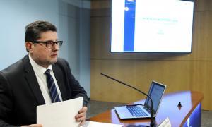 El cap de la Uifand, Carles Fiñana, va presentar la memòria del 2018 divendres passat.