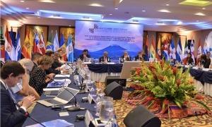 La 18a trobada ministerial d'Administracions Públiques celebrada a Guatemala.