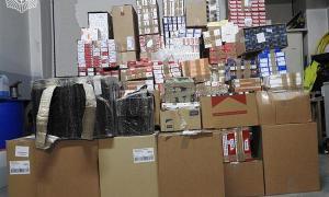 El material confiscat en l''operació Llobarro' a finals del 2016.
