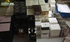 Intervenen perfums i colònies de contraban per valor d'11.522 €