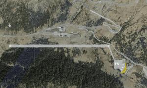 Imatge del projecte de l'aeroport de la Cambra de Comerç.