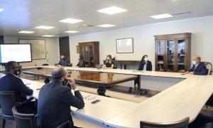 Una de les reunions celebrades per treballar el Pla de salut mental i addiccions.