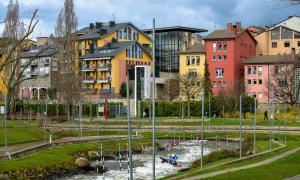 Les immobiliàries de la Seu d'Urgell remarquen que queden molt pocs pisos de lloguer i que són petits.
