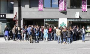 Seguiment massiu de la primera vaga a les escoles franceses de primària
