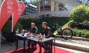 Josep Marticella i Josep Maria Garrallà en la presentació d'ahir.
