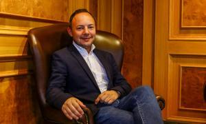 El cap de Govern, Xavier Espot al seu despatx.