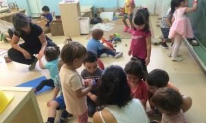 La llar d'infants municipal Els Minairons té inscrits aquest curs un total de 95 nens i nenes.
