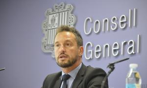 El conseller general Pere López.