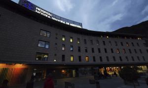Vista de l'hospital Nostra Senyora de Meritxell.