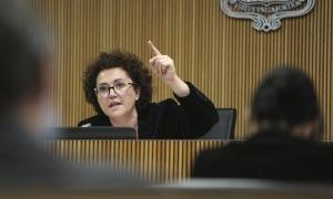 Un moment de la compareixença de Pallarés a la comissió de Justícia, Interior i Afers Institucionals.