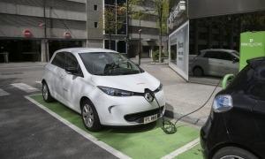 Un vehicle elèctric.