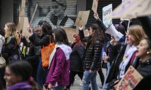 La manifestació del 8 de març de l'any passat.