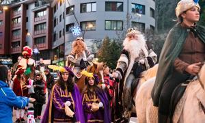 Com es tradicional, els Reis arribaran a lloms de cavalls.