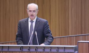 Cinca afirma que el 'no' al pacte d'Estat és defugir responsabilitats