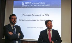 Clients de BPA porten a la Batllia la darrera resolució de l'AREB