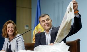 Les bosses de plàstic s'hauran de pagar a 0,10 o 0,15 euros