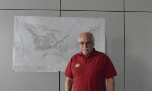 El director de Capesa, Eduard López Mirmi, a la seu de la companyia.