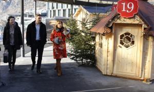 Andorra la Vella preveu avançar deu dies el Poblet de Nadal