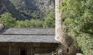 Andorra, Santa Coloma, Patrimoni, arqueologia, excavació, frescos, romànic, 'mapping', Consell Assessor, entorns, entorns de protecció, sondeig, prospecció