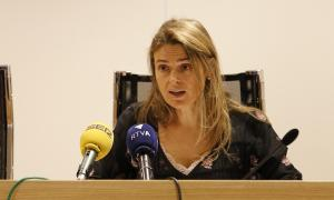 La presidenta del Consell de col·legis, Sophie Bellocq.