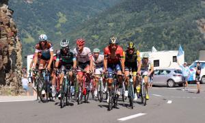 Pas del Tour de França per la Val d'Aran el passat dia 24 de juliol.