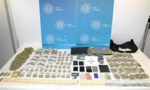 Droga comissada per la Policia l'any passat en l'operació 'Paradise'.