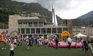 El Prat del Roure reuneix més de 250 nens per celebrar la fi del curs de les escoles esportives d'Escaldes-Engordany