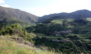 Una de les zones d'ampliació del parc que correspon a Civís (Alt Urgell).