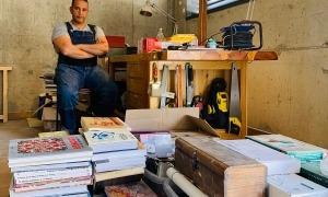 Ahmed Keshta, dilluns al seu estudi d'Engolasters.