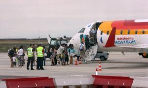 L'aeroport d'Alguaire registra 3.274 passatgers en la temporada d'estiu