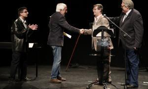 Pere Capdevila i Lluís Sàmper reben els premis Antoni Rogel del 2016