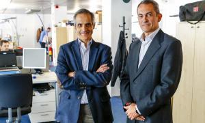 David Vicente, responsable de transformació digital, i Josep Maria Barris, responsable d'operacions i infraestructura.