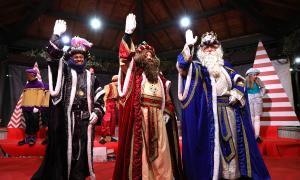 Una edició anterior de la cavalcada dels Reis Mags a les parròquies centrals.