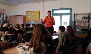 Els alumnes dels sistemes educatius espanyol i francès es formen en el 'Projecte de les allaus'.