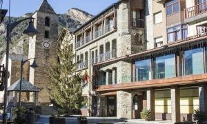 Imatge de l'edifici del Comú d'Ordino.