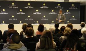 La xerrada de Ramos-Quiroga va tenir lloc ahir a la tarda a l'edifici Crèdit Centre.