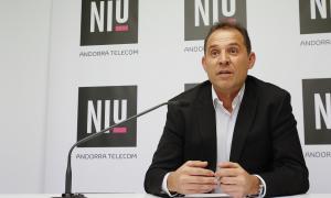 El responsable del Niu, Miquel Gouarré, va presentar ahir el segon Demo Day.