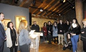 L'aleshores ministra de Cultura en funcions, Olga Gelabert, va inaugurar l'Espai Dèria el març del 2019.