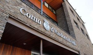 Les dependències comunals d'Andorra la Vella.