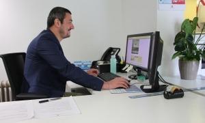 Xavier Marchante, tècnic de l'Oficina de l'habitatge.