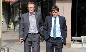 """Els germans Higini i Ramon Cierco mantenen que el procés de revisió ha desembocat en """"una situació injusta i discriminatòria""""."""