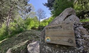 Accés escaldenc a la vall del Madriu des del sector d'Engolasters.