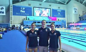 Nàdia Tudó, Bernat Lomero i Mònica Ramírez busquen plaça olímpica per a Tòquio.